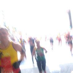 Kind of like this zombie-esk shot of runners I took by mistake running through #lego town (canary wharf) #marathon #londonmarathon  #oneinamillion #random #picoftheday #nofilter by londonmaramom