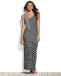 Tommy Bahama - Lucca Lines Maxi Dress