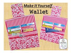 Looking for your next project? You're going to love Make It Yourself Wallet by designer 4girlsdesigns.
