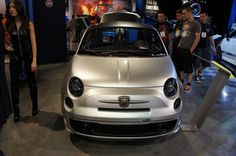 Fiat 500 Cafe Racer at 2012 SEMA Show