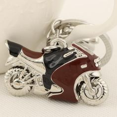 HOT RIDE Fashion Harley Bike Jewelry Pendant Charm Keychain