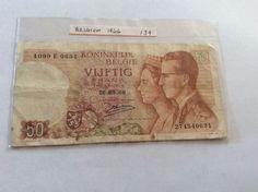 Belgium 50 Frank Banknote May 16 1966 274540631 - 1099 E 0631