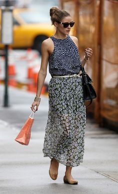 Olivia Palermo... effortlessly chic as per usual.
