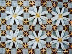 ❣Eski bir nakış tekniği... An old embroidery technique... #pötikareişleme #nakiş #işleme #pitikare #kaneviçe #canvas #elişi #embroidery #nakış #cagework #hobby #vintage #etamin #craft #crochet #love #hobi #crochetlove #handmade #mutfaktakımı #followme #pretty #homedekor #çeyiz #anneminçeyizi #patterns #masaörtüsü  #beautiful #güzelevler #pulleywork http://turkrazzi.com/ipost/1518865987704650130/?code=BUUGJGKjvmS