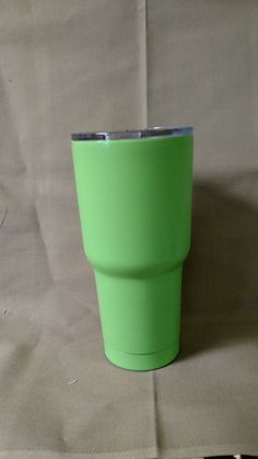 e9bf53c3076 Lime Green Boss Tumbler - 30 oz. by DiamondEAwards on Etsy Insulated Cups,  Laser