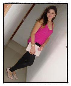 A Kacelane Rodrigues nos mandou um look com o seu slipper de spikes da Bottero e nós adoramos, ela ficou linda de rosa né?! Tem uma foto com o seu Bottero preferido? Manda pra gente, vamos adorar ver! ♥ ♥ ♥