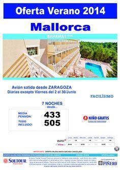 Mallorca: Oferta Hotel Bahamas salidas desde Zaragoza ultimo minuto - http://zocotours.com/mallorca-oferta-hotel-bahamas-salidas-desde-zaragoza-ultimo-minuto/