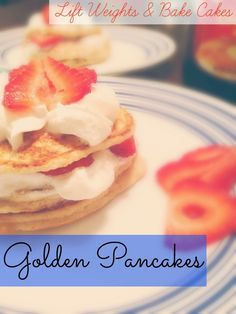 Golden Pancakes: with healthy surprising ingredients