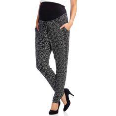 Belle e alla moda anche in gravidanza con l'abbigliamento premaman autunno inverno 2014 2015 Kiabi pantaloni stampati maglia fluida 17.99 euro.