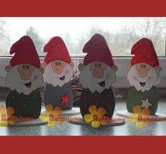 little Christmas gnome made of wood - Diy Home Decor Christmas Gnome, Christmas Wood, Little Christmas, Christmas Crafts, Custom Woodworking, Woodworking Projects Plans, Wooden Crafts, Diy And Crafts, Kids Wood