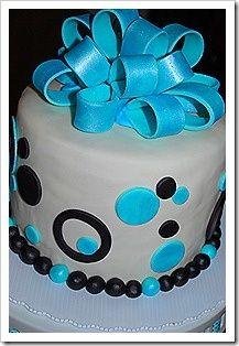 Fondant Bow Cake