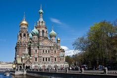 Church of Our Saviour on the Spilled Blood, St. Petersburg, Russia