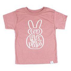 God Love His Peeps Easter Shirt