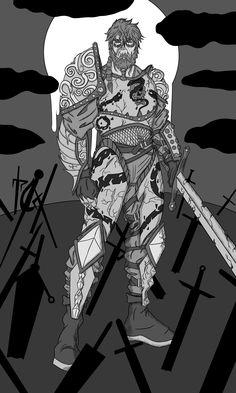 I accept requests on fiverr War one of the Four Horsemen of The Apocalypse #sketch #drawing #horsemen #war #broken #warrior #knight #soldier #sword #apocalypse #fourhorsemen #DnD #Art #Fantasy Video Game Characters, Dnd Characters, Art Sketches, Sketch Drawing, Horsemen Of The Apocalypse, Draw Your, Vector Graphics, Game Art, Weird