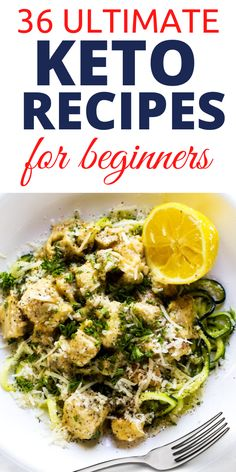 Looking for the ultimate keto recipes for beginners? These 36 best keto recipes have been specially selected for beginners to start a ketogenic lifestyle and lose weight fast. These are the best keto diet ideas for beginners Healthy Low Carb Recipes, Diet Recipes, Healthy Food, Dessert Recipes, Diet Cheesecake Recipe, Diet Ideas, Food Ideas, Best Keto Diet, Ketogenic Lifestyle