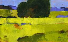 Paul Bailey - Contemporary Artist - Landscapes - Tree Block 9 - 2013