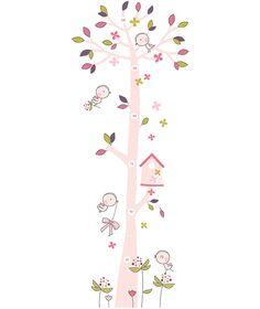 Palette de roses poudrés… Ambiance printanière et fleurie. Une chambre de petite fille où tout n'est que douceur et délicatesse.TOISE ADHESIVE (49x128cm)Stickers vinyle. Ne laissent pas de traces au mur.A appliquer sur une surface lisse et propre. Facilesà poser grâce à un transfert transparent. Fournisavec une notice de pose. Fabriqué en France.