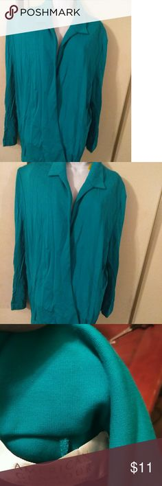 Women's cardigan Turquoise lady's open front cardigan Badgley Mischka Sweaters Cardigans