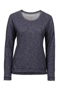 recolution organic Sweater Frauen grau gesprenkelt fair trade Pullover Bio Baumwolle