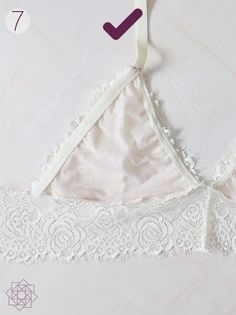 - Chew Tutorial and Ideas Sewing Lingerie, Cute Lingerie, Sewing Hacks, Sewing Crafts, Sewing Projects, Design Blog, Bustiers, Diy Bralette, Nightgown Pattern