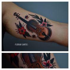 Florian Santus as featured on www.swallowsndaggers.com #tattoo #tattoos #music