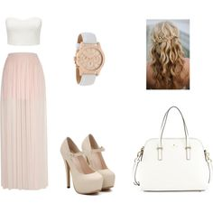 #Restaurant by maanoondesmet on Polyvore featuring mode, Forever New, River Island, Kate Spade and Lacoste
