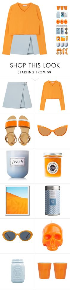 """""""6016"""" by tiffanyelinor ❤ liked on Polyvore featuring ASOS, Tom Ford, Fresh, West Elm, Oliver Peoples and D.L. & Co."""