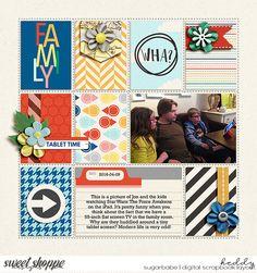 Family Vacay by Dream Big Designs, EZ Albums 12 by Erica Zane #ericazane #dreambigdesigns #sweetshoppedesigns