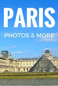 Best photos of Paris - Louvre, Notre Dame and more.