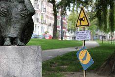 De Zonnebaadster - Tom Waakop Reijers - Provenierssingel, Rotterdam