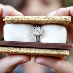 Smore wedded bliss #wedding