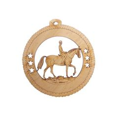Looking for that perfect English Rider ornament or a gift for your favorite English Rider?  This unique English Horse ornament is the perfect addition to any Christmas tree.