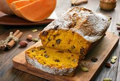 Make bread, rolls, and other baked goods using traditional sourdough starter and gluten-free sourdough starter. Choose from a wide variety of recipes! Pumpkin Scones, Pumpkin Bread, Sourdough Recipes, Bread Recipes, Köstliche Desserts, Delicious Desserts, Fall Recipes, Holiday Recipes, Holiday Foods