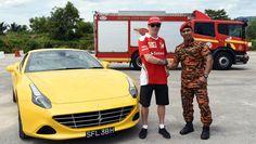 Kimi Raikkonen - Job Swap - 2016 Malaysian GP