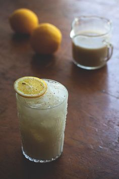 Coconut Chai Lemonade