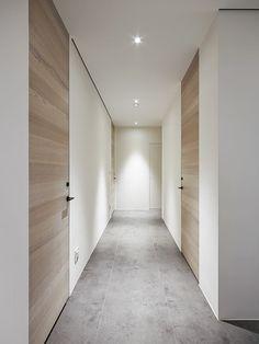 Door Design Interior, Interior Decorating, Modern Entrance Door, Bedroom Doors, Internal Doors, Apartment Interior, Metal Walls, Home Deco, Interior Architecture