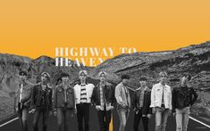 """highway to heaven dawn ver. highway to heaven desktop edit. """"""""they know we got the chemistry"""" wallpaper Kpop Wallpaper, Pc Desktop Wallpaper, Aesthetic Desktop Wallpaper, Macbook Wallpaper, Tumblr Wallpaper, Aesthetic Backgrounds, Wallpaper Backgrounds, Glitter Wallpaper, Iphone Backgrounds"""