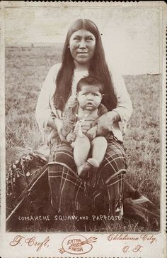 Comanche Woman and Child by Wisconsin Historical Images, via Flickr