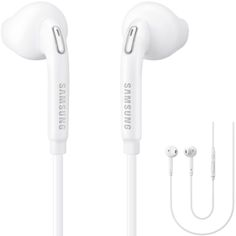 Ακουστικά Handsfree  Samsung EO-EG920BWE Stereo 3.5mm Original(Λευκό) Apple Earphones, Headphones, Samsung, Advertising, Headpieces, Headset, Sam Son, Ear Phones