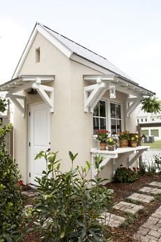 Could be a cute addition to the well house. small cottage plans