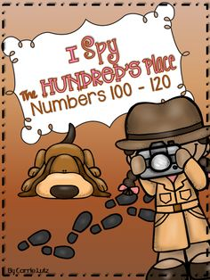 Introducing the Hundred's Place ~ This product focuses on only numbers 100 - 120. No Prep activities and fun practice pages! 47 pages $4.50