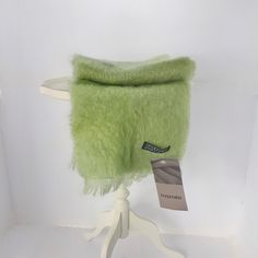 Foxford Mohair Wool Mint Apple Green Woven Scarf Ireland Accessory by StarfishCollectibles on Etsy Vintage Clothing, Vintage Outfits, Wool Scarf, Absolutely Gorgeous, Going Out, Ireland, Mint, Apple, Green