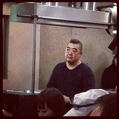 Chef Katsumi Ishida, un chef japonais basé à Lyon et originaire de Fukushima. Incroyablement créatif et auteur de la soupe de boudin noir et du saumon confit.
