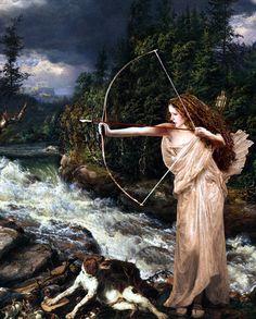 Говард Джонсон Амазонка на охоте