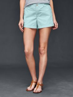 Another great summer short. More light aqua in real life though.