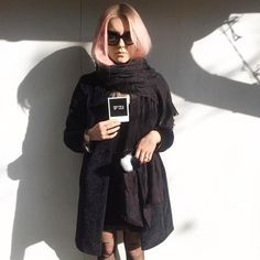 """Perfect Polapix #ootd by @sandershawny  Use the code """"shawny"""" to get free shipping & two polapix for free ✌️ #polapix #becoolgirl #pinkhairdontcare #clixxielove #polagirl"""