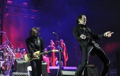 Nick Cave and the Bad Seeds perform on the Coachella Stage during the Coachella Valley Music and Arts Festival at the Empire Polo Grounds in Indio, Calif., on Sunday, April 14, 2013. Photo by Rodrigo Pena Photography.