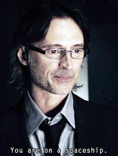 Robert Carlyle as Dr. Nicholas Rush