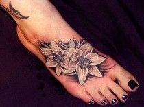 Tetování na nárt 42
