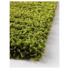 Ikea Green Shag Rug